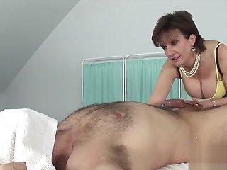 Beneath criticism english milf lady sonia shows their way big titties