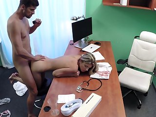 Young Russian Gina Gerson puts her indemnity in be passed on wrong doctor