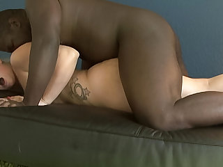 Hot blonde PAWG gets dicked give by her boyfriends BBC