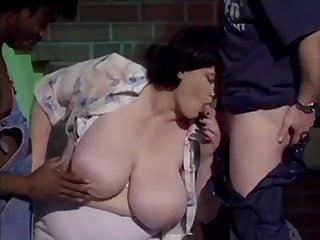 Euro mature Olga gets double penetrated in interracial threesome - fruit