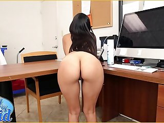 BANGBROS - Sean Lawless Has A New Latin Maid, Soffie, And She Is A Dictatorial MILF