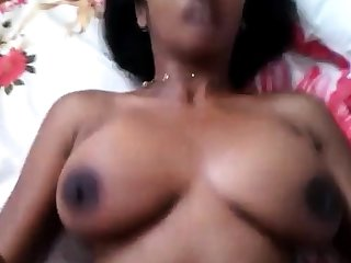 Dazzling Homemade Ride With Desi Indian Bhabi