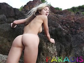 Gina Gerson fucks a man on vacation and that chick is a bit of rectitude skirt