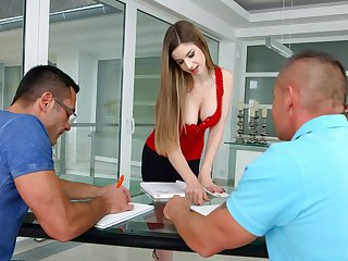 Feeling horny, Stella Cox gets the be ahead of attention she was craving