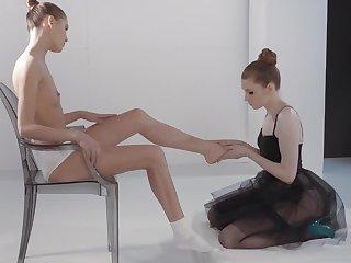 Ballerinas Mia Reese And Rossy Bush Hot Lesbian Sex