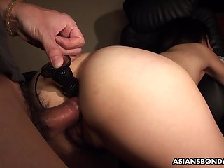 Momo Sakata got constrained up coupled with fucked harder than ever