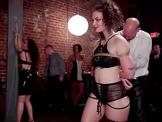 Kinky and wild Aiden Starr adores group games surcease a long day