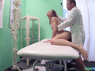 Hidden cam sex scenes between the dilute and the patient