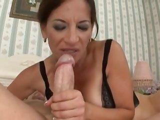 Venereal Mommy Melissa Monet Fucks Young Cock